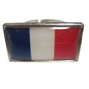 France Flag Fashion Ring